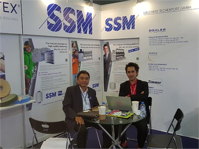 SSM at Saigontex 2017